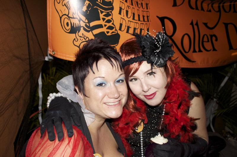 zen halloween bangor roller derby waving hand bangor roller derby waving hand